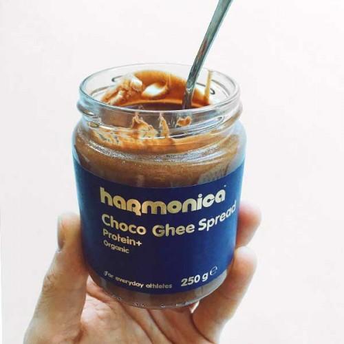 Течен черен шоколад с гхи и 2 вида растителен протеин /био/ 'harmonica', 250g