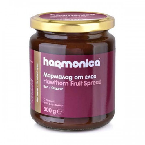 Мармалад от глог без захар /био/ с петмез от захарно цвекло 'harmonica', 300 г
