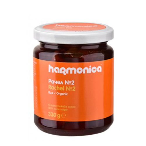 Рачел от тиква с Орехи и сироп от Тръстикова захар /био/, богат на витамин С и Желязо 'harmonica', 330г