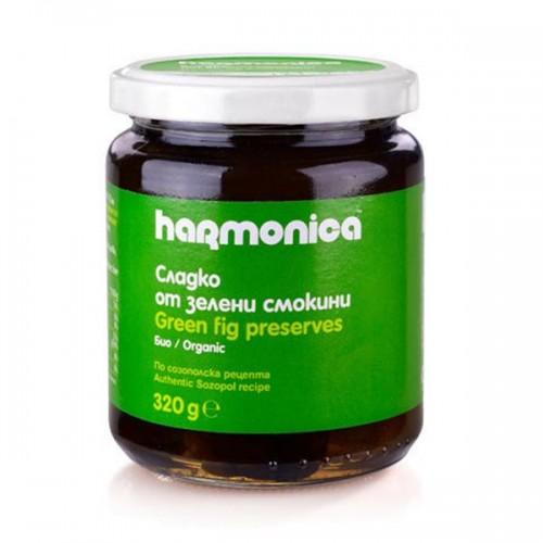Сладко от зелени смокини /по созополска рецепта, БИО/ 'harmonica', 320g