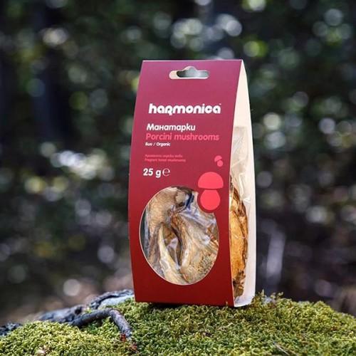 Манатарки - сушени диворастящи /горски/ гъби 'harmonica' БИО от района на Средна гора