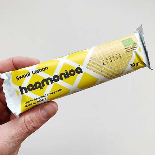 Вафла с лимоново масло Sweet Lemon от лимец /био/ 'harmonica', 30 г