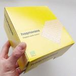 Вафла с лимоново масло Sweet Lemon от лимец /пълнозърнеста, БИО/ 'harmonica', КУТИЯ 20 бр. х 30 г