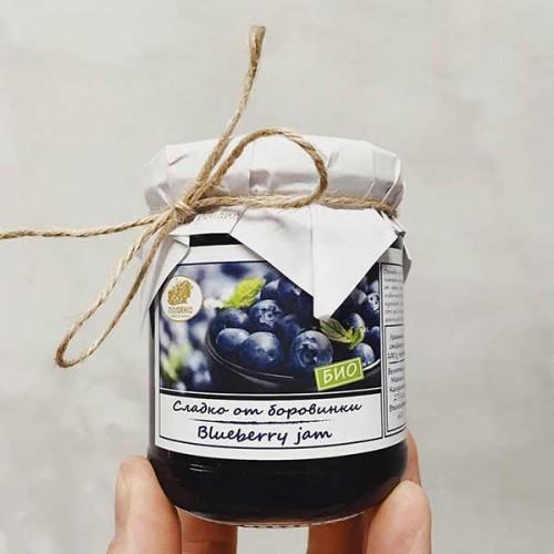 Сладко от боровинки БИО /цели горски плодове/ 'Поляна', 240 гр.