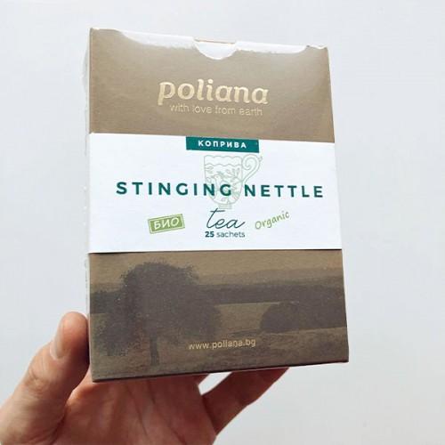 Чай от Коприва /Urtica dioica/ БИО 'Поляна', 25 биоразградими пакетчета
