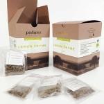 Чай от Лимонена мащерка при кашлица, невралгия и натрупана умора БИО 'Поляна', 25 биоразградими пакетчета