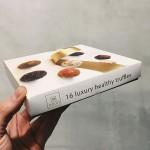 Луксозна бонбониера с 16 трюфела /сурови, без захар/ 'nouri', 4 различни вкуса х 3 броя