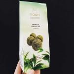 Трюфели с матча зелен чай /сурови, без захар/ 'nouri', бонбониера 10 броя в кутия