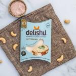 Сирене от кашу 'delishu' Класик, ферментирало в растителна закваска и свръхбогато на пробиотици, 100 г