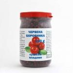 Червени боровинки /сушени плодове/ при инфекции на Пикочните пътища, Подагра и Простатит, 150 гр.