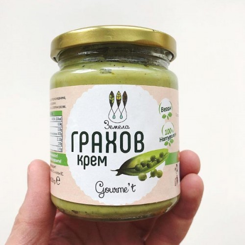 Грахов крем /веган, без глутен/ 'Земела', 225 г