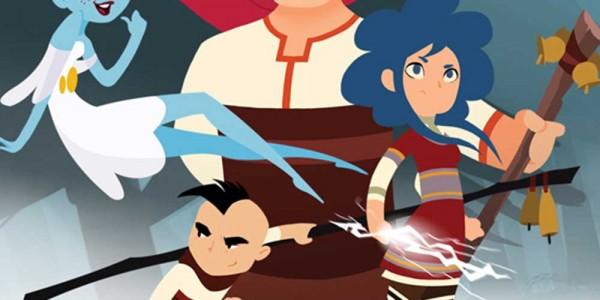 Златната ябълка - първият анимационен сериал, базиран на българския фолклор