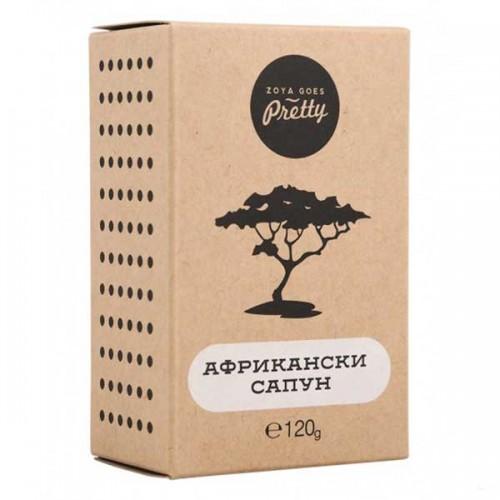 Черен африкански сапун /без палмово масло, алкален/ при акне, леки кожни обриви и за бръснене, 120 г
