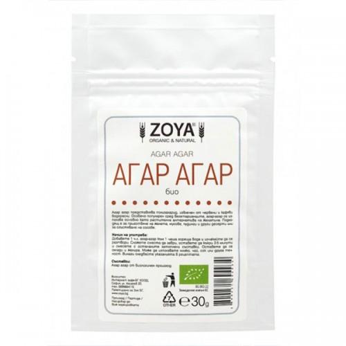 Агар Агар - растителна алтернатива на желатина от БИО произход /червени и кафяви водорасли/, 30 г