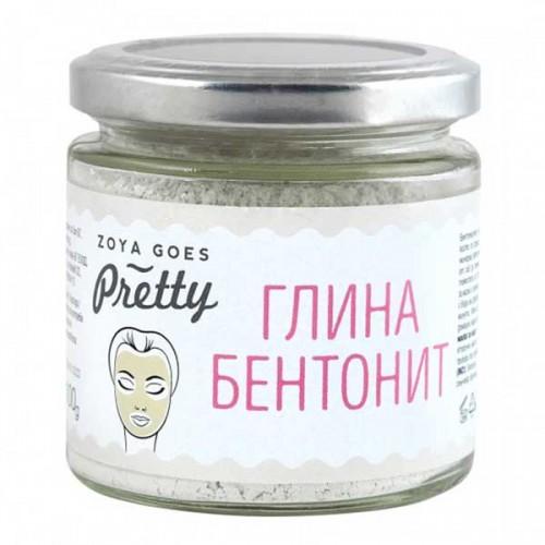 Глина бентонит за почистване на мазна кожа 'Zoya Goes Pretty', 100 g