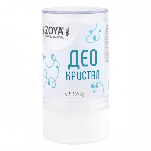 Део кристал /сух стик дезодорант без аромат/ против неприятна миризма при изпотяване', 120 гр.