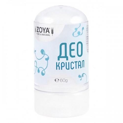 Део кристал /сух стик дезодорант без аромат/ против неприятна миризма при изпотяване', 60 гр.