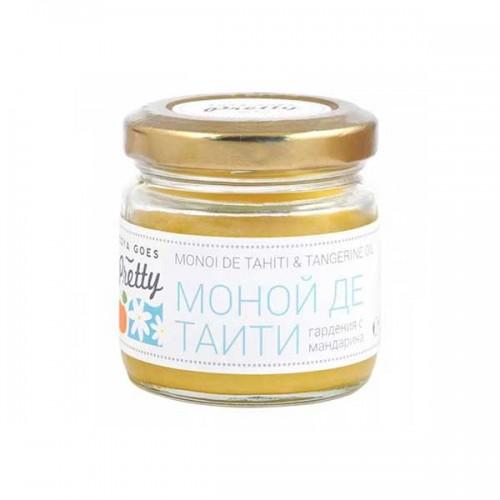 Моной де Таити /гардения/ с мандарина за нормална и суха кожа 'Zoya Goes Pretty', 60g