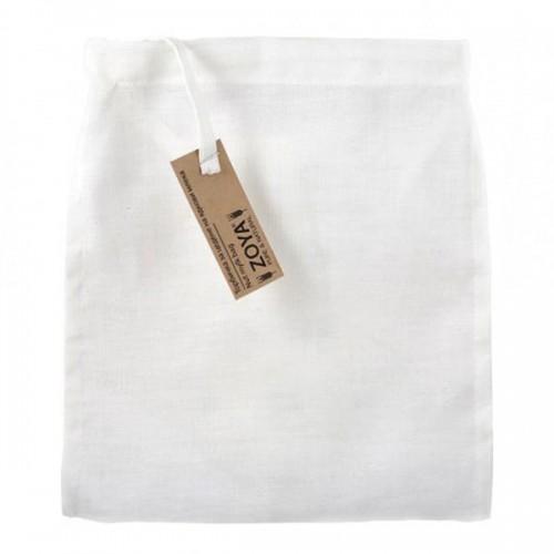Торбичка за цедене на ядкови напитки от 100% лен